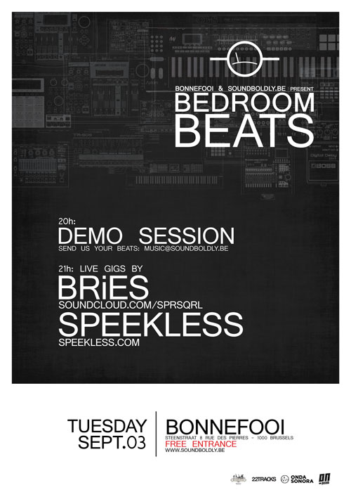 BRiES & Speekless @ Bedroom Beats